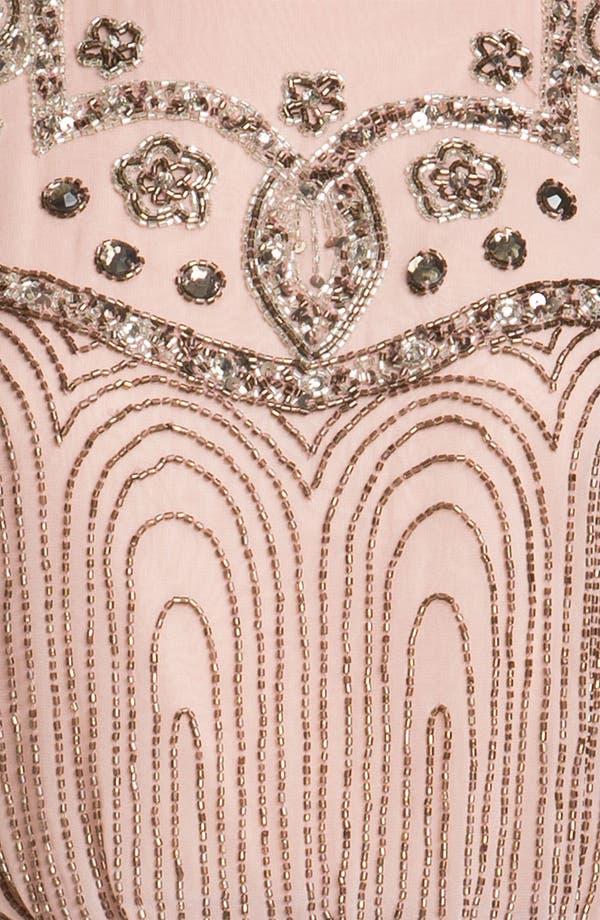 Alternate Image 3  - JS Collections Beaded Chiffon Blouson Dress (Petite)