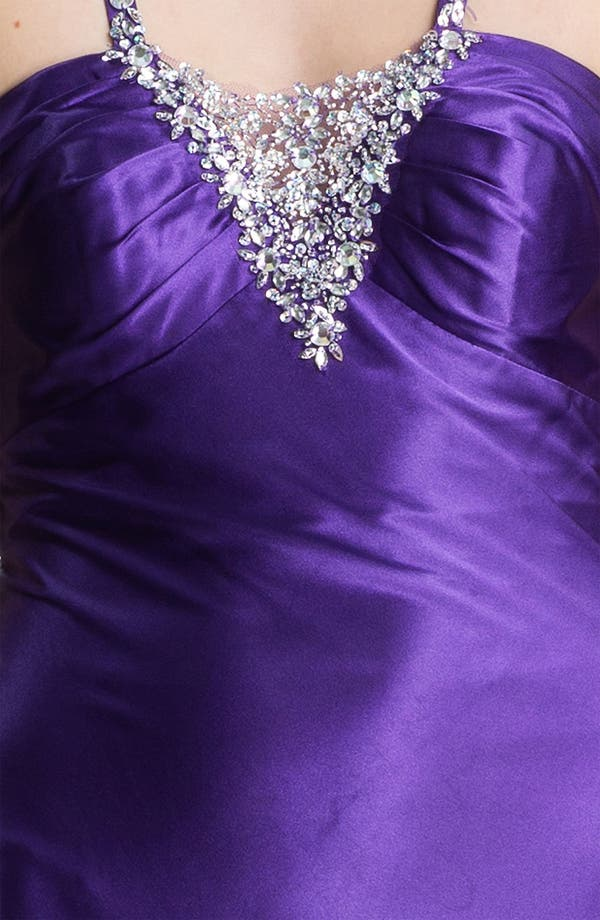 Alternate Image 3  - Sean Collection Embellished Satin Gown