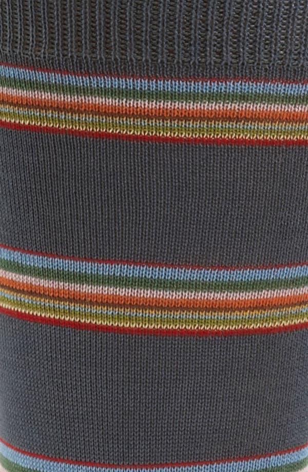 Alternate Image 2  - Paul Smith Accessories Multi Block Stripe Socks