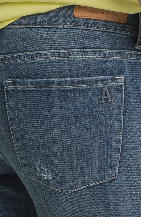 Alternate Image 3  - Articles of Society 'Kendra' Bootcut Jeans (Worn) (Juniors)