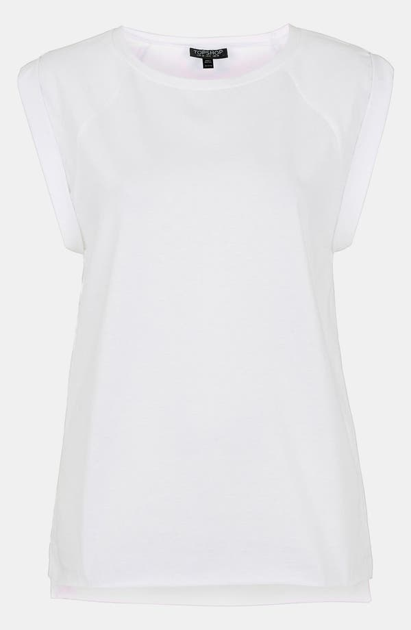 Alternate Image 1 Selected - Topshop 'High Roller' Specked Tee