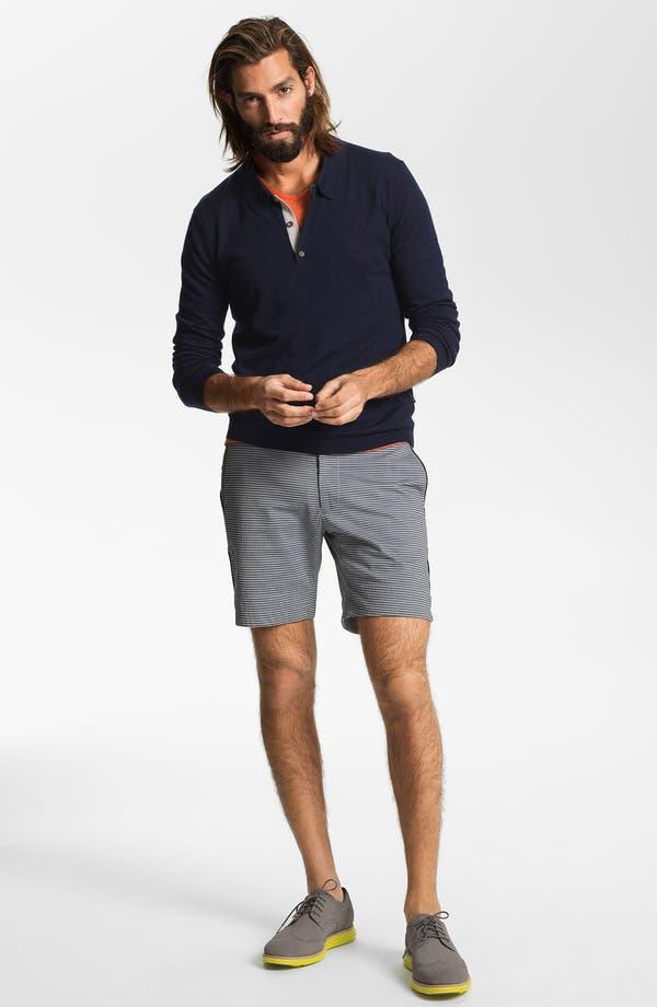 Alternate Image 2  - Number:LAB Flat Front Shorts