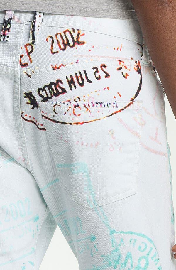 Alternate Image 5  - Mary Katrantzou Current/Elliott 'The Boyfriend' Print Jeans