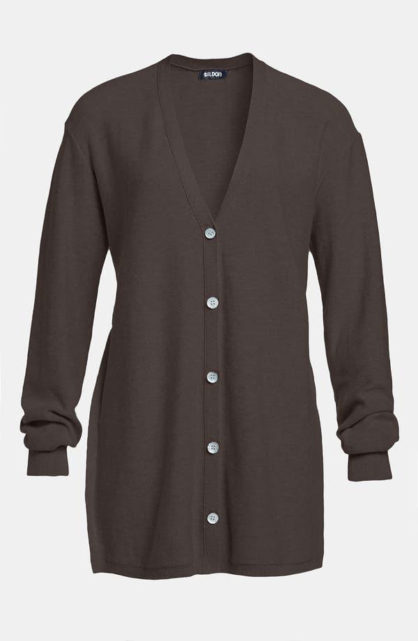 Alternate Image 1 Selected - Tildon Split Side Button Cardigan