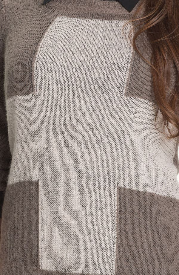 Alternate Image 3  - Press Cross Intarsia Sweater