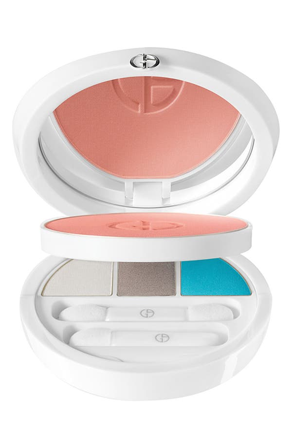 Alternate Image 1 Selected - Giorgio Armani 'Coral Bliss' Face & Eye Palette