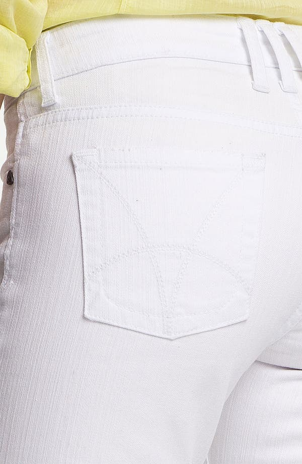Alternate Image 3  - KUT from the Kloth 'Catherine' Slim Boyfriend Jeans (White)
