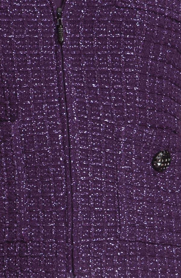 Alternate Image 5  - St. John Collection Shimmer Tweed Jacket