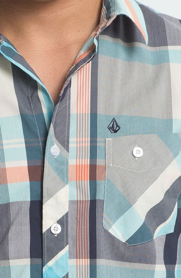 Alternate Image 3  - Volcom 'Lonsway' Plaid Woven Shirt