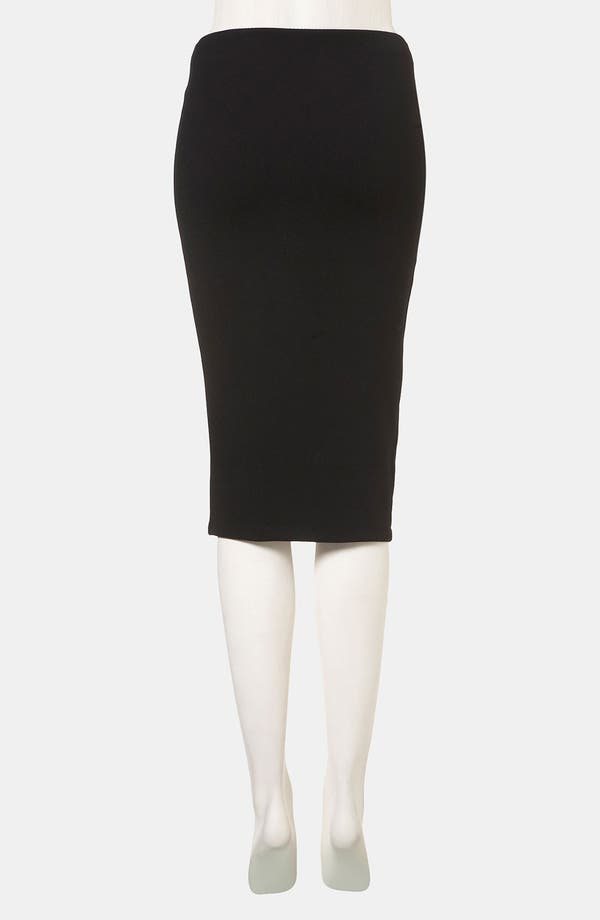 Alternate Image 2  - Topshop Side Slit Pencil Skirt