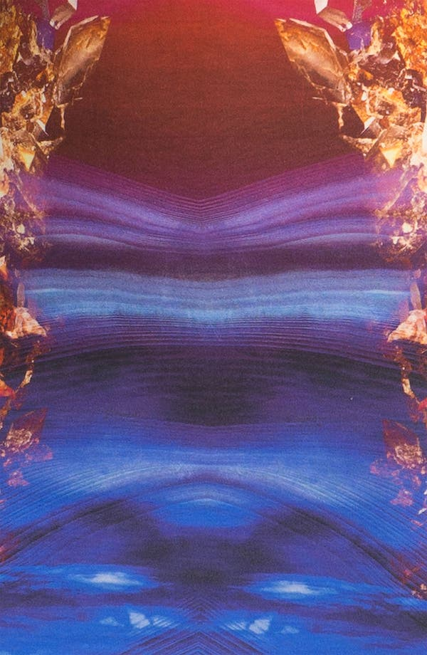 Alternate Image 3  - McQ by Alexander McQueen Crystal Print Dress