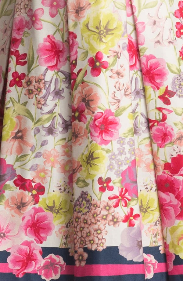 Alternate Image 3  - Max & Cleo Print Fit & Flare Dress