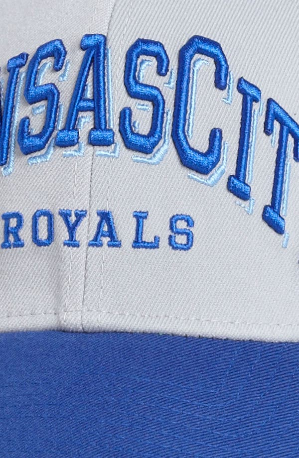 Alternate Image 3  - New Era Cap 'Kansas City Royals - Arch Mark' Fitted Baseball Cap