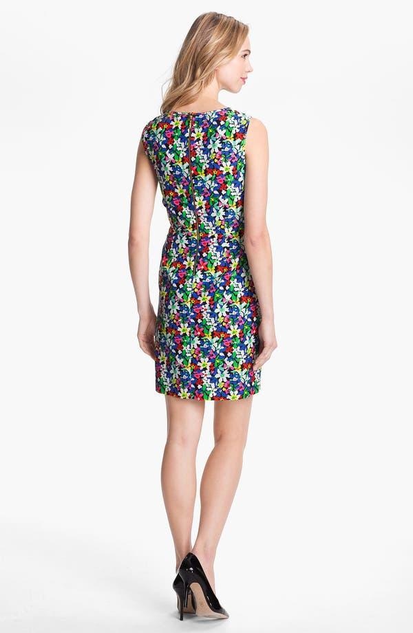 Alternate Image 2  - kate spade new york 'mira' cotton & silk sheath dress