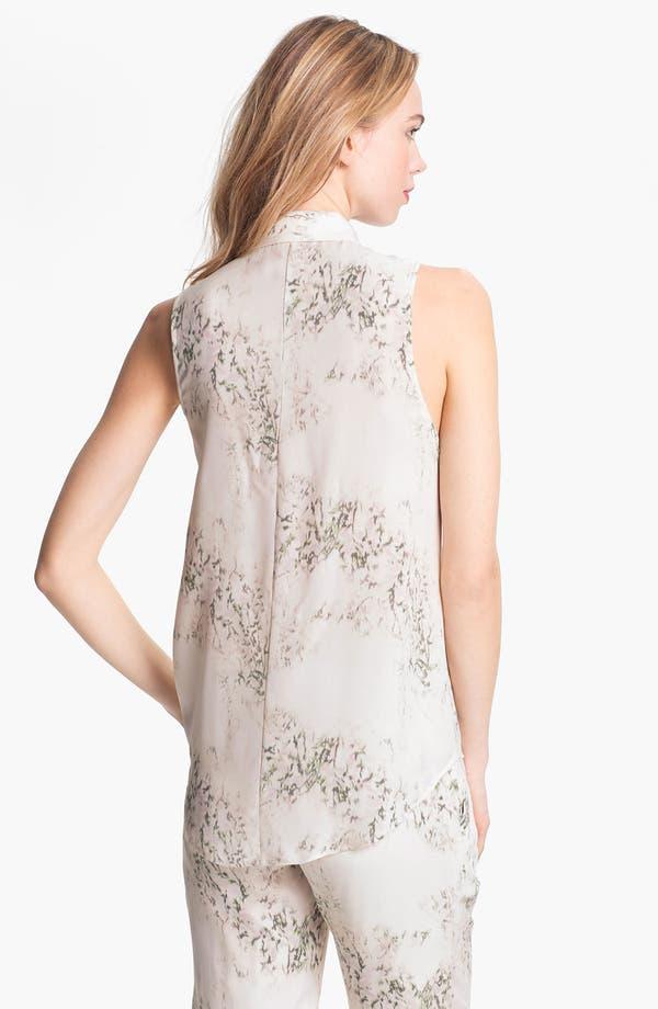 Alternate Image 2  - Theory 'Earheart' Silk Shirt
