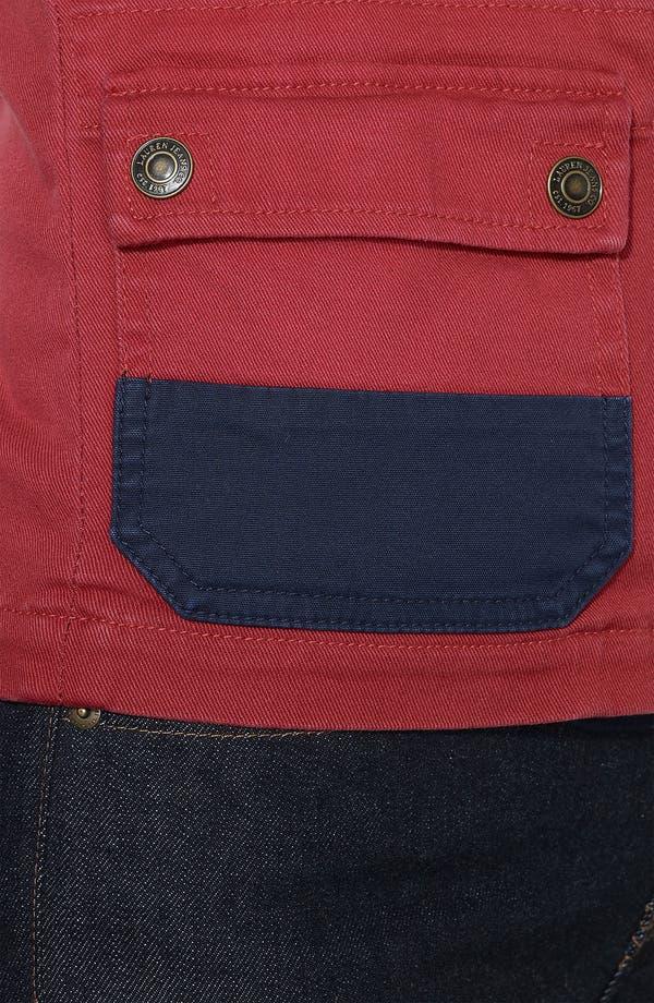 Alternate Image 4  - Lauren Ralph Lauren Denim Jacket (Plus)