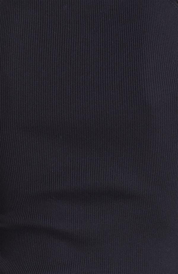 Alternate Image 3  - Dolce&Gabbana Ribbed Silk Shell