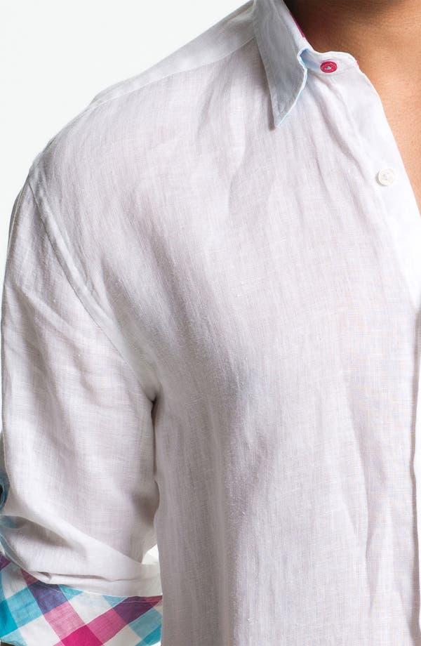 Alternate Image 3  - Stone Rose Linen Woven Shirt