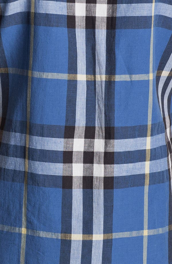Alternate Image 3  - Burberry Brit Linen Blend Sport Shirt