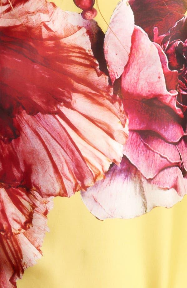 Alternate Image 3  - Roberto Cavalli 'Vervienne Print' Belted Chiffon Caftan