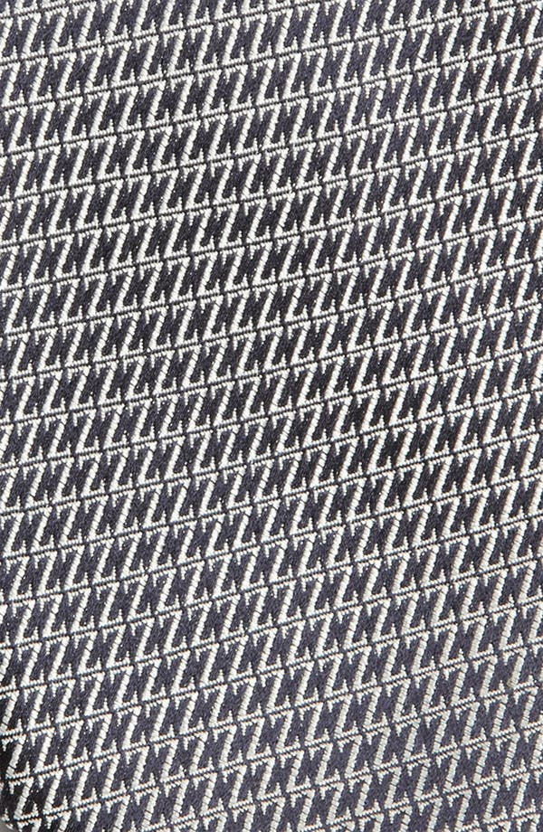 Alternate Image 3  - Z Zegna Z Pattern Woven Silk Tie