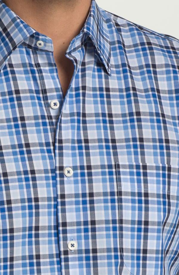 Alternate Image 3  - Peter Millar 'Zurich' Regular Fit Plaid Sport Shirt