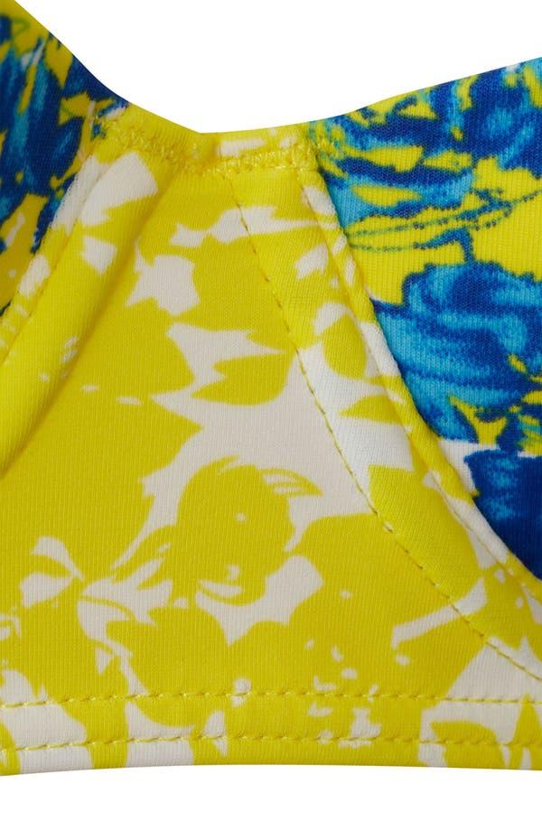 Alternate Image 3  - Topshop 'Porcelain Floral' Print Retro Bikini