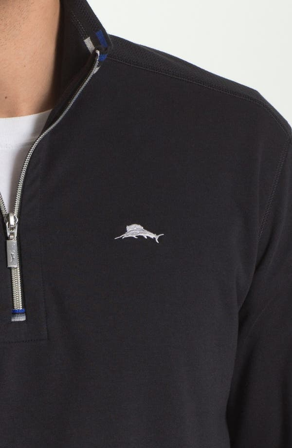 Alternate Image 3  - Tommy Bahama Half Zip Sweater