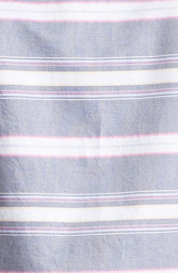 Alternate Image 3  - Ted Baker London 'Sandrog' Trim Fit Short Sleeve Oxford Sport Shirt