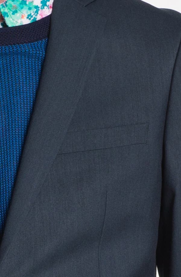 Alternate Image 3  - Topman Ultra Skinny Fit Blazer