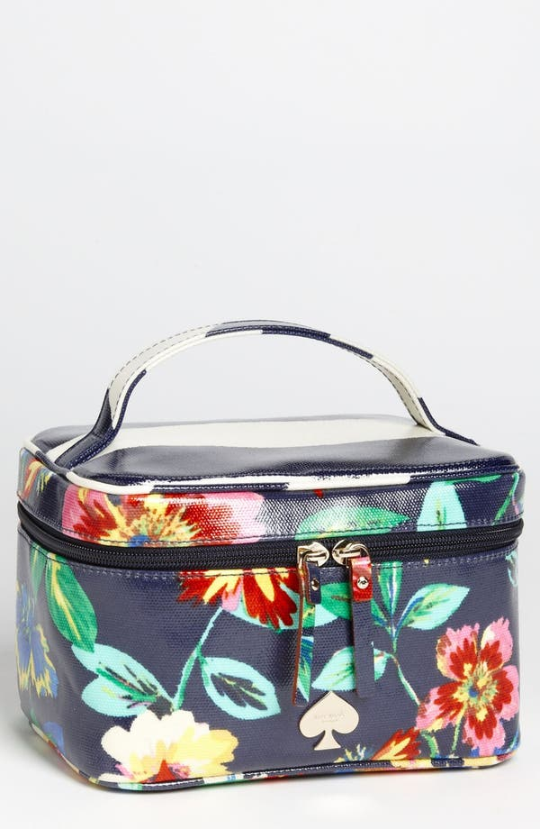 Main Image - kate spade new york 'willow road - small natalie' cosmetics case