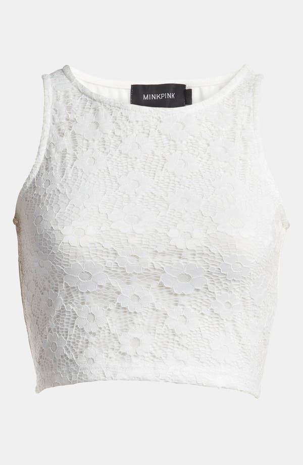 Alternate Image 1 Selected - MINKPINK 'First Love' Crop Tank