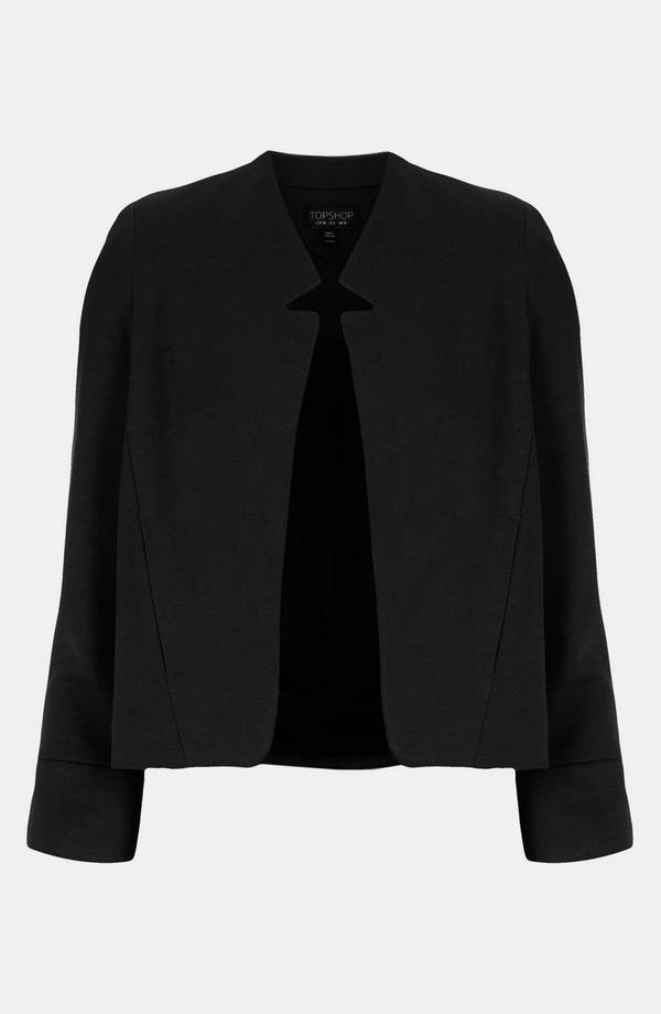 Alternate Image 1 Selected - Topshop 'Romeo' Inverted Lapel Blazer