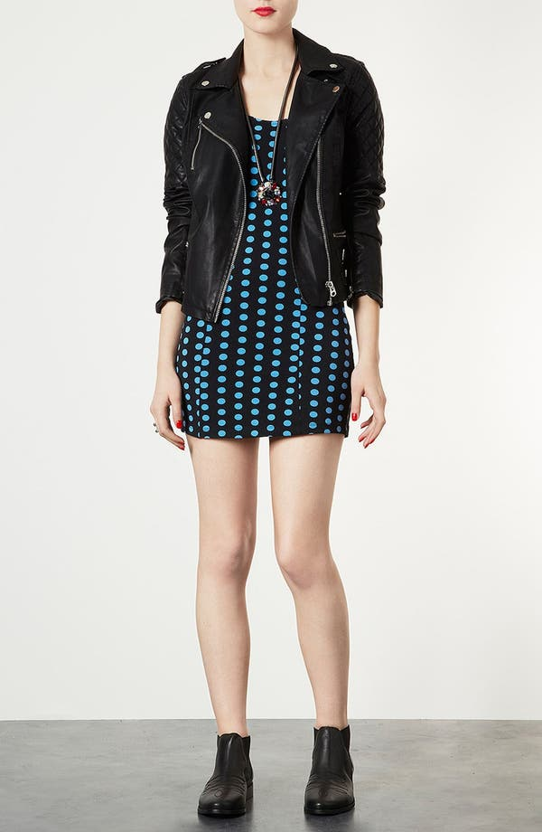Alternate Image 1 Selected - Topshop Spot Body-Con Tank Dress