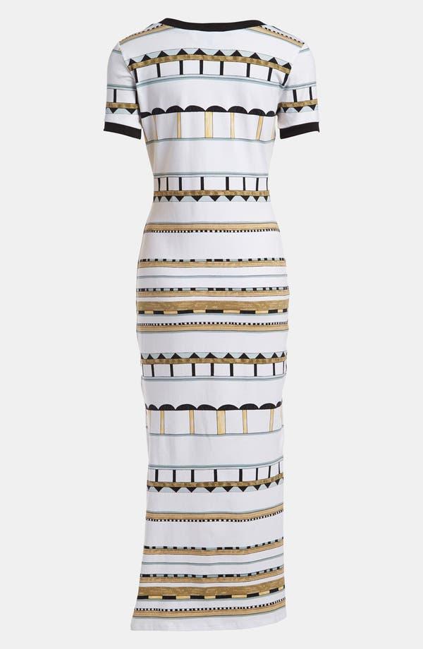 Alternate Image 2  - Viva Vena! Slim T-Shirt Maxi Dress