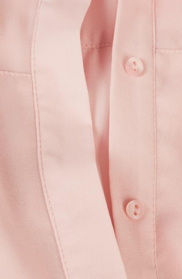 Alternate Image 3  - Topshop Paneled Shirt