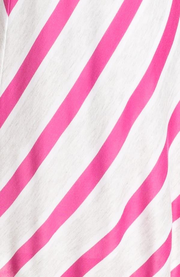 Alternate Image 3  - Felicity & Coco V-Neck Chevron Stripe Jersey Dress (Nordstrom Exclusive)