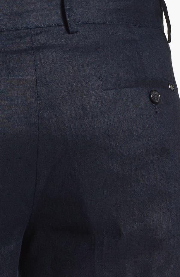 Alternate Image 3  - Michael Kors Linen Shorts