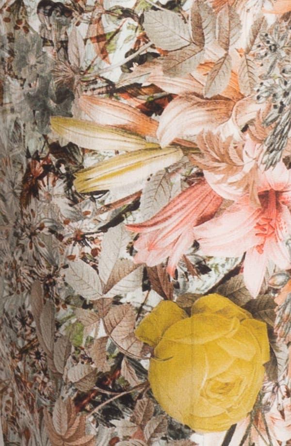 Alternate Image 3  - Haute Hippie Pleated Floral Print Silk Pants