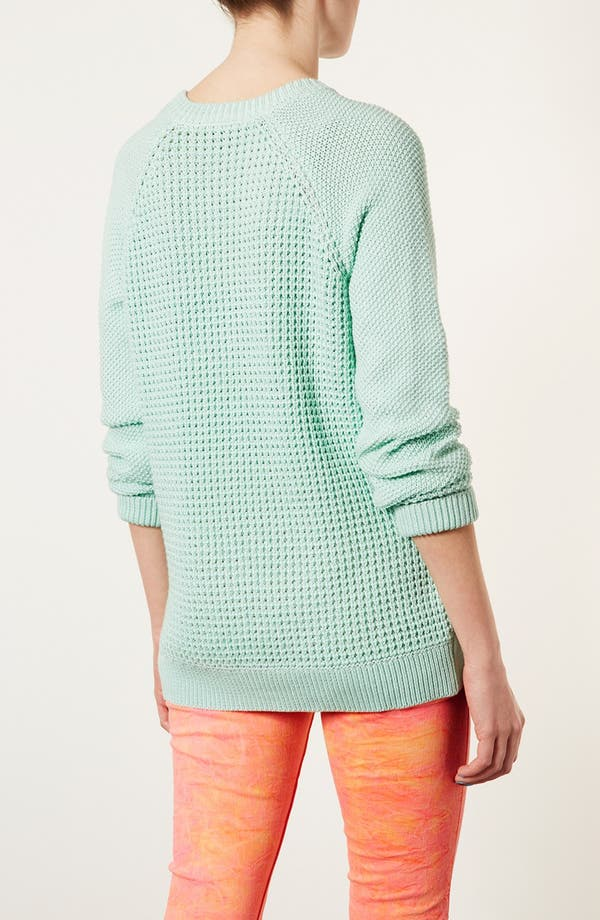 Alternate Image 2  - Topshop 'New Textured Grunge' Sweater
