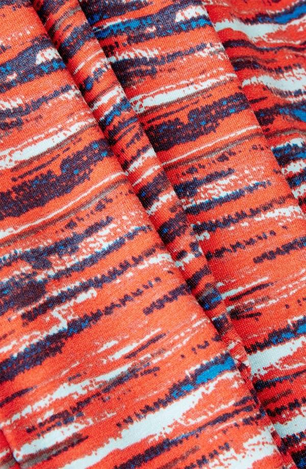 Alternate Image 4  - Topshop Stripe Notched Body-Con Dress