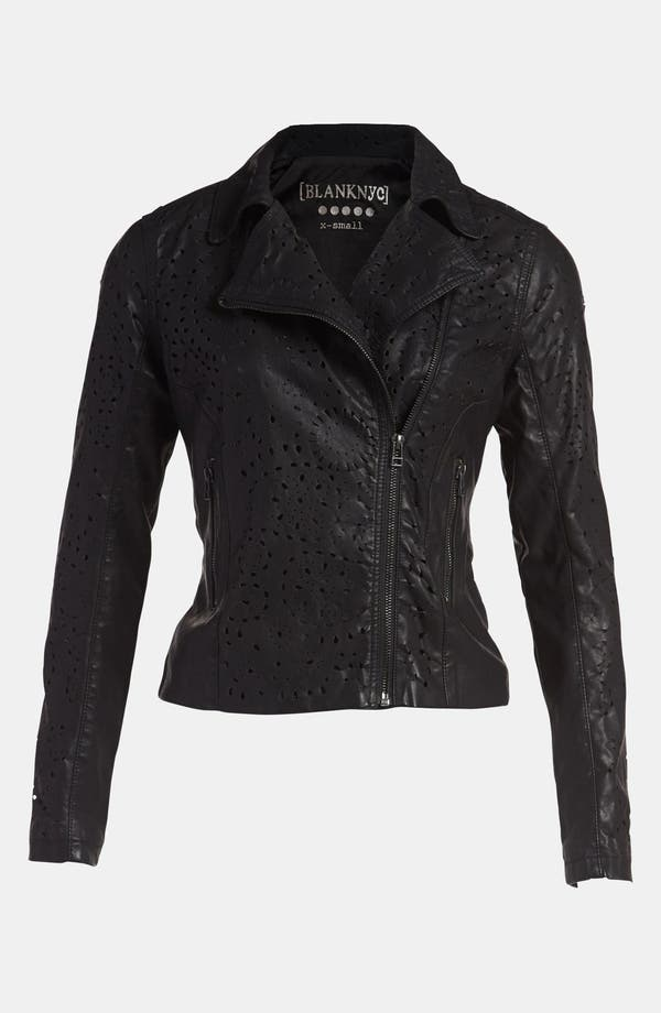 Alternate Image 1 Selected - BLANKNYC 'Cookie Cutter' Faux Leather Jacket