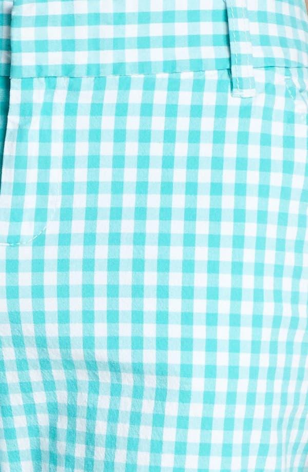 Alternate Image 3  - Caslon® Clean Front Nine-Inch Shorts (Regular & Petite)