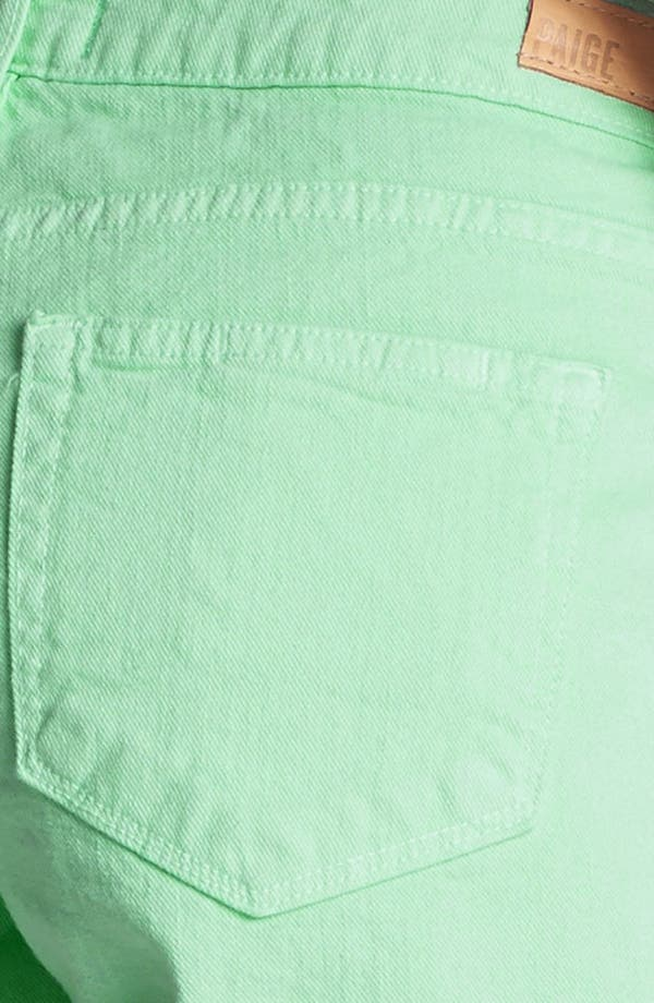 Alternate Image 3  - Paige Denim 'Jimmy Jimmy' Shorts (Glass)