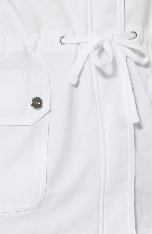 Alternate Image 3  - Lauren Ralph Lauren Hooded French Terry Jacket (Petite)