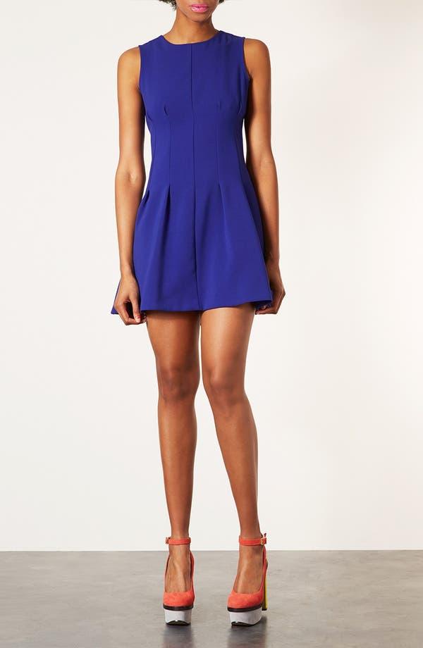 Alternate Image 1 Selected - Topshop Seam Waist Dress