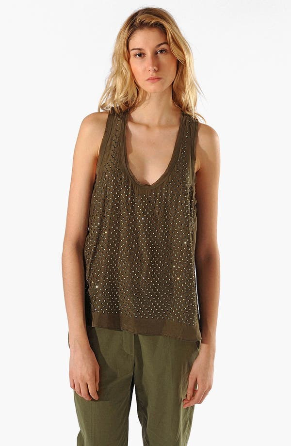 Alternate Image 1 Selected - maje 'Accisse' Silk Tank