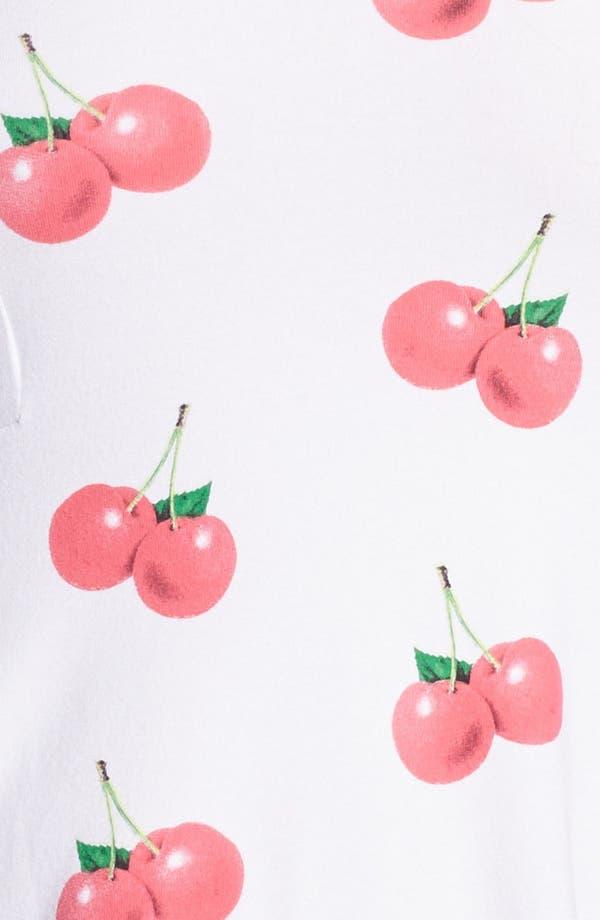 Alternate Image 3  - Wildfox 'Joan' Cherry Print Top