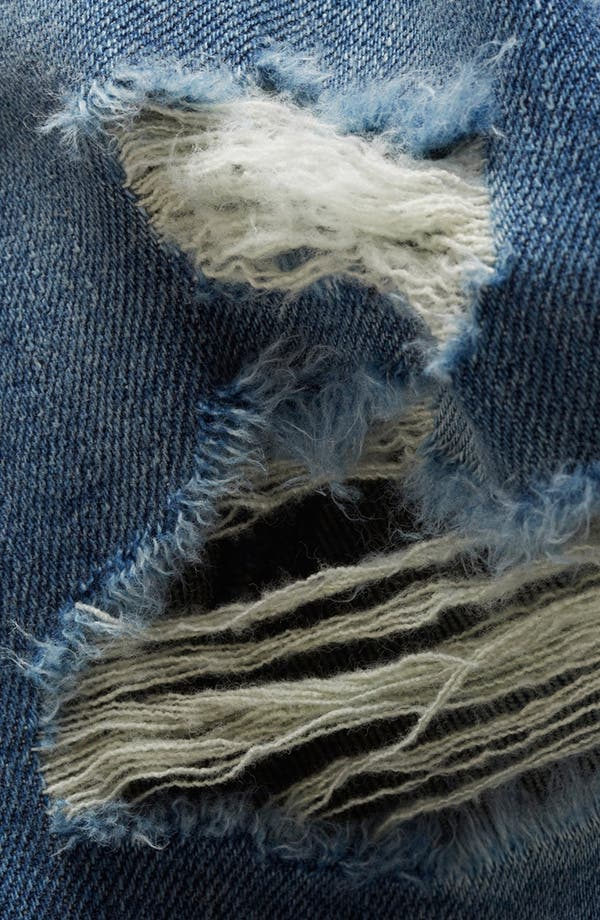 Alternate Image 3  - Topshop Moto 'Lacey' Boyfriend Jeans (Midstone) (Petite)