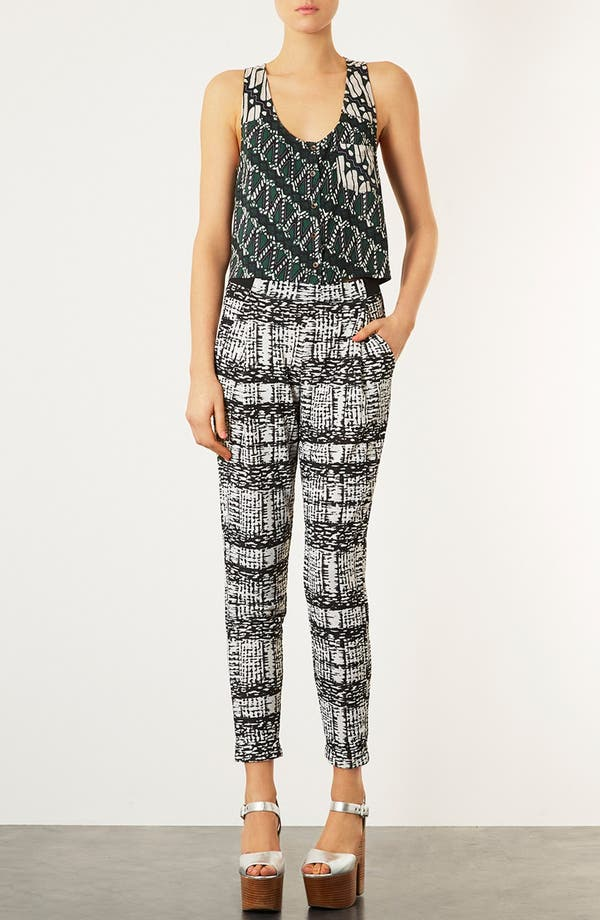 Alternate Image 4  - Topshop African Print Tank Top